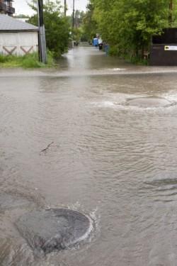 Flood in Calgary